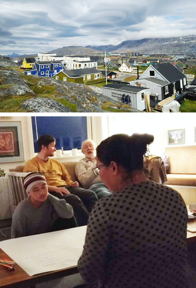 """The community of Nuuk, Greenland, has also been preparing for the upcoming bicentenary. At a recent gathering, participants explored ideas for how to commemorate the Bab's bicentenary. """"The spiritual atmosphere was so wonderful,"""" a community member expressed."""
