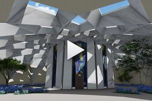 Anteproyecto del Santuario de 'Abdu'l-Bahá