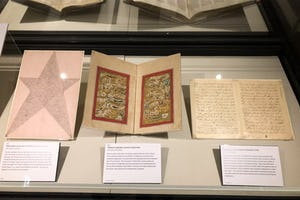 The Library is marking the bicentenary with various initiatives alongside its launch of a new website and exhibition displaying examples of the Faith's original texts.