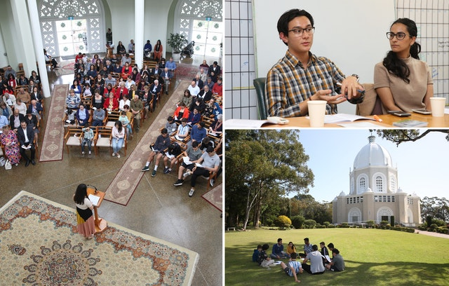At the Temple in Sydney, devotional gatherings and meetings to reflect on community building efforts are regularly taking place in the lead-up to the bicentenary.