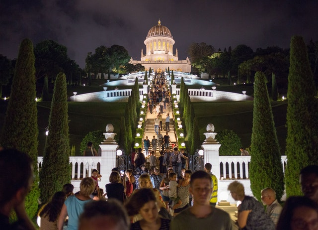 Over 16,000 visitors attended the opening of the terraces at night on 16 and 17 October.
