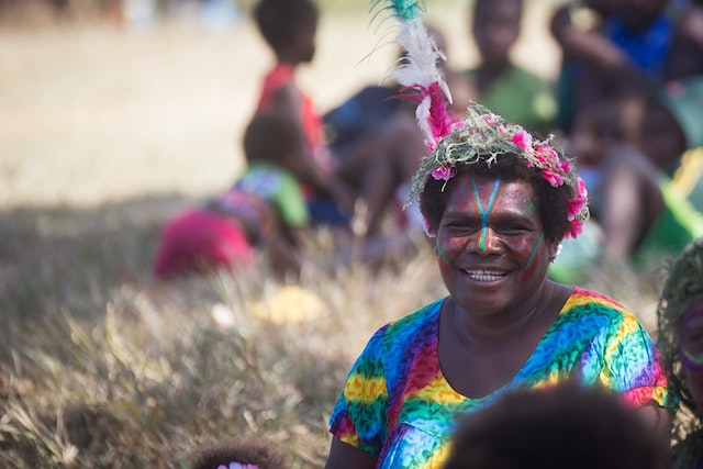 Sunday's groundbreaking ceremony was attended by many residents of Tanna and other islands of Vanuatu.