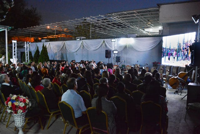 The community in Ashgabat, Turkmenistan, held a screening of the film Dawn of the Light as part of celebrations honoring the 200th anniversary of the birth of the Bab.