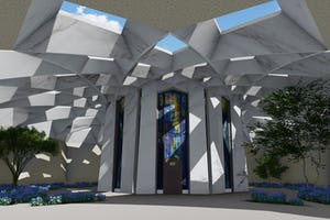 Design concept for the Shrine of 'Abdu'l-Baha