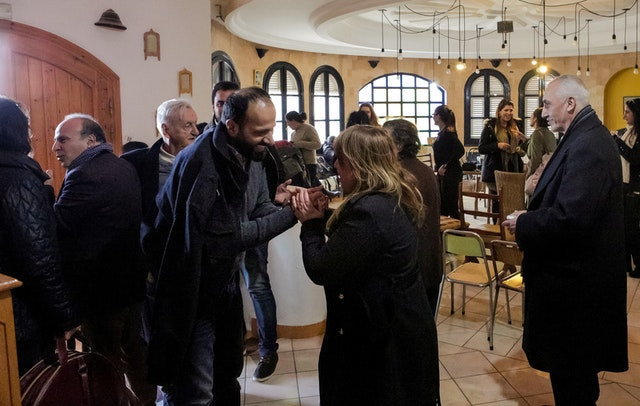 "At a ""cultural café"" in Sousse, Tunisia, organized by the country's Bahá'í community, religious and civil society leaders were brought together to exchange ideas and explore insights about the advancement of women in the country."