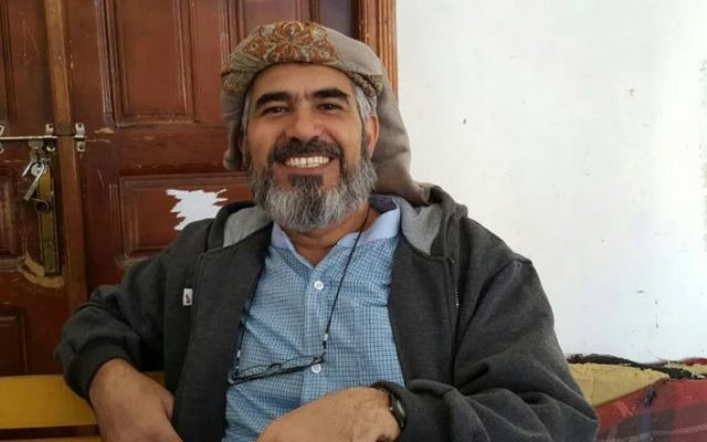 Hamed bin Haydara, a Yemeni Baha'i, was arbitrarily arrested in December 2013 and has faced a lack of due process, mistreatment, and torture ever since.