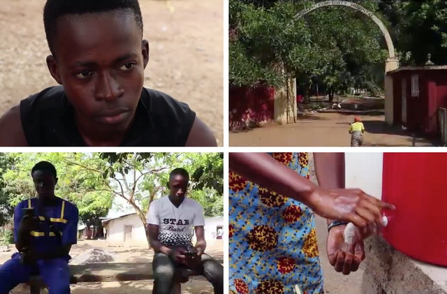 Youth in Sierra Leone, who have been participating in Baha'i educational programs that develop capacities for service to society, created a video that uses music and dramatization to promote health measures needed at this time to protect against this crisis.