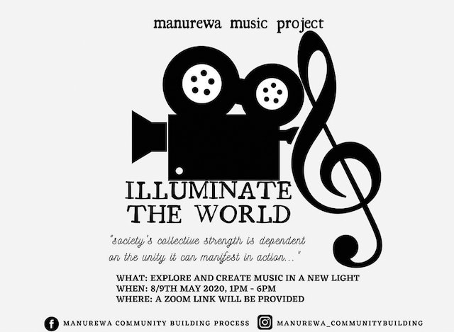 """An initiative of several musicians in Auckland, New Zealand, titled """"Illuminate the World"""", has been bringing people together to create musical works that shed light on challenges facing their society."""