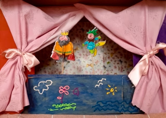 "Teachers of children's moral education classes in Italy have recorded a puppet show on the theme of justice and shared it on the website, ""Stelle Splendenti"" (Brilliant Stars).  This website, one of several initiatives of the country's Baha'i community, was created in response to the coronavirus pandemic and makes available multimedia resources to help families explore with their children the spiritual qualities most needed at this time."