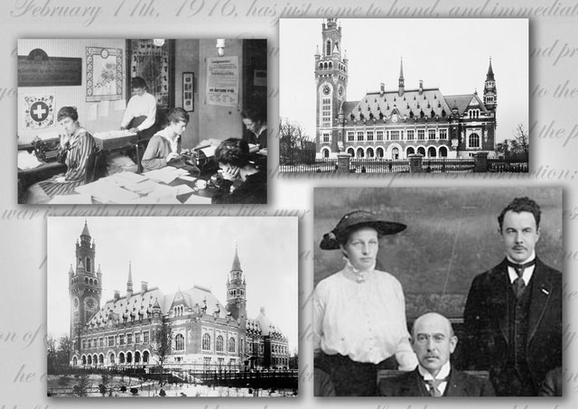 In the aftermath of World War I and the devastating 1918 flu pandemic, two Baha'is set out from the Holy Land in May 1920 to deliver a message written by 'Abdu'l-Baha to the Central Organization for a Durable Peace in The Hague. (Credit for featured images: bahaigeschiedenis.nl)