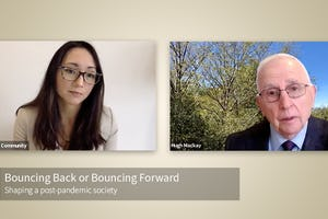 "The Australian Baha'i community holds an [online seminar](https://www.youtube.com/watch?v=klQBdGJrIfE) titled ""Bouncing Back or Bouncing Forward?"" as part of its efforts to contribute to the public discourse on social cohesion."