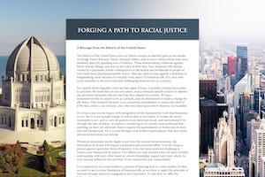 Une [déclaration publique](https://www.bahai.us/path-to-racial-justice/) de l'Assemblée spirituelle nationale des bahá'ís des États-Unis sur les préjugés raciaux et les principes spirituels essentiels au progrès vers la paix, publiée il y a quelques jours, a déjà stimulé une réflexion critique dans tout le pays. (À droite : photo de la ville de Chicago par [Erol Ahmed](https://unsplash.com/@erol) sur Unsplash)