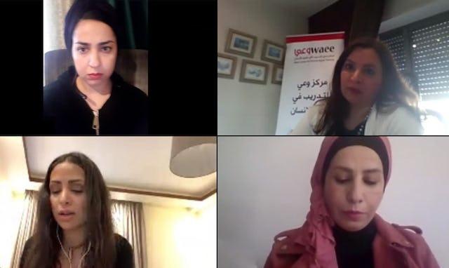 Discussion avec un journaliste organisée par la communauté bahá'íe de Jordanie.