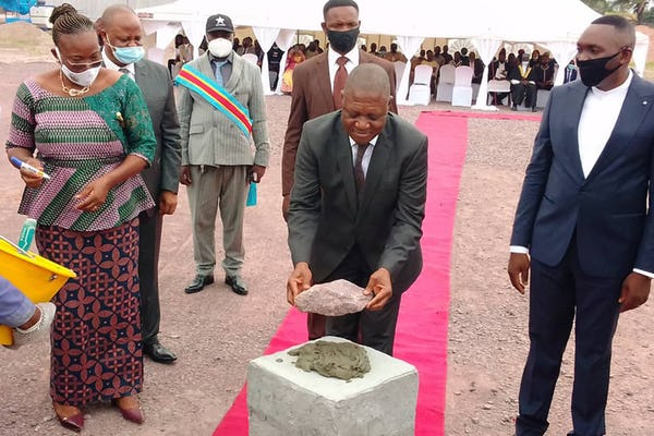 Groundbreaking for House of Worship celebrated across DRC