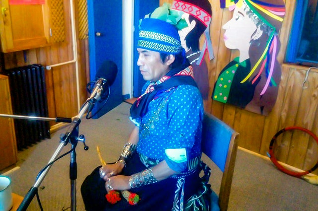Chile Bahá'í Radio based in Labranza, Chile, has been in close dialogue, especially during the pandemic, with surrounding indigenous communities to ensure that programs speak to their needs and aspirations. Prayers in the indigenous Mapuche language are a part of regular broadcasts of Chile Bahá'í Radio.