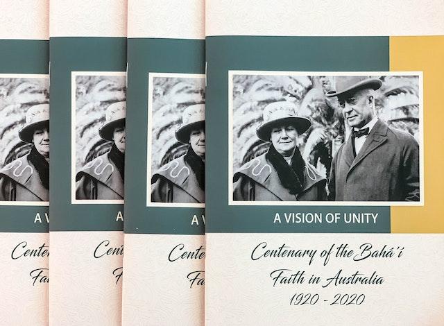 The Australian Bahá'í community is celebrating the centenary of its establishment in the country. The history of the Bahá'í Faith in Australiabegan in 1920 with the arrival of two Bahá'ís from the United States, John Henry Hyde Dunn and Clara Dunn.