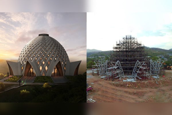 Papua New Guinea: House of Worship takes shape