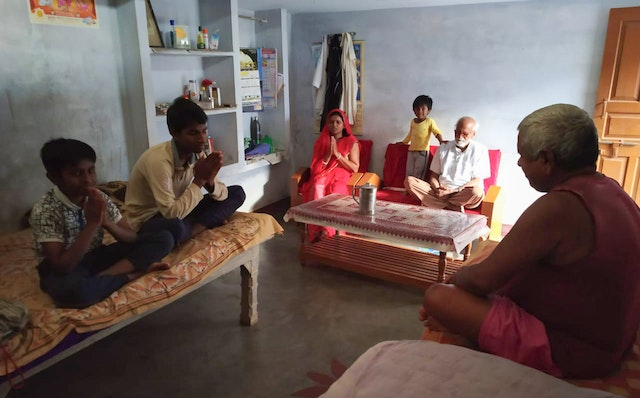 """Nilakshi Rajkhowa of the Office of Public Affairs says that """"Bahá'í community building endeavors encourage families to plan and consult together when they undertake initiatives. … Prayer also plays an important role in creating a unified spirit."""""""