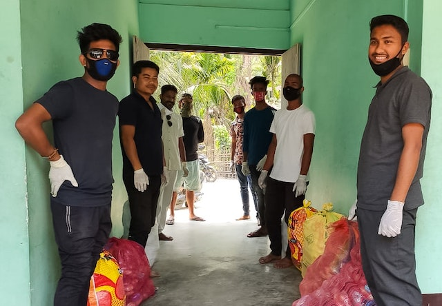 As the health crisis continued, Bahá'í communities and institutions began coordinating an organized response. In India, Bahá'í Local Spiritual Assemblies in various parts of the country have been distributing food and other necessities to citizens whose economic situation has become precarious.