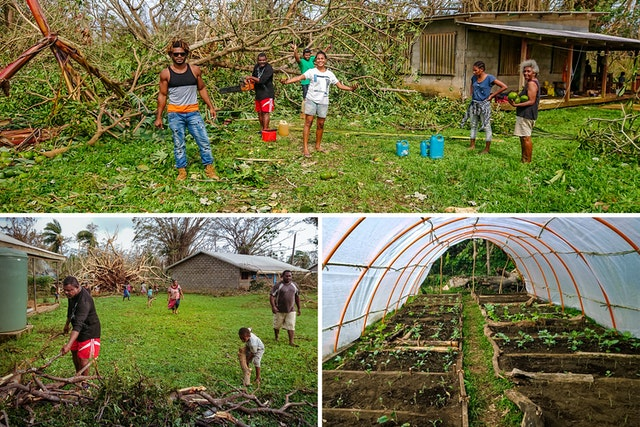 In April amid the pandemic, when Cyclone Harold struck the northern islands of Vanuatu the degree of unity and collective action fostered through the educational activities of the Baha'i community enabled many people to respond swiftly and to begin rebuilding and replanting.