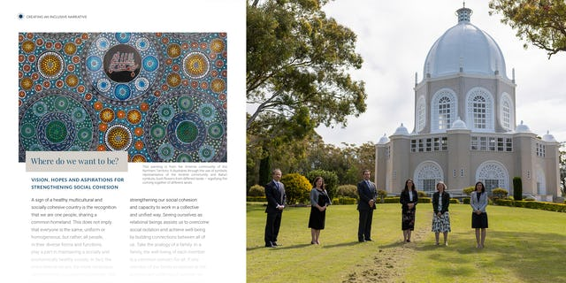 In Australia, a two-year process of gatherings among diverse segments of society culminated in the release of Creating an Inclusive Narrative, a publication that offers insights on forging a common identity.