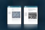 The Bahá'í World Publication sees new enhancements and essays