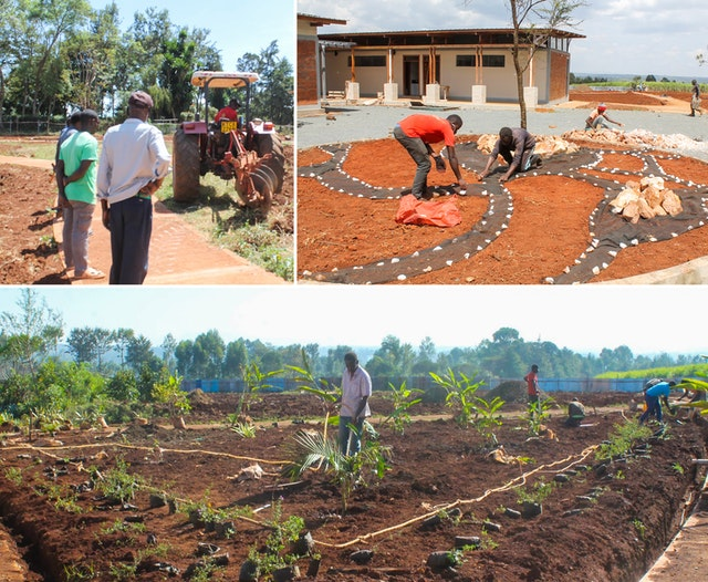 The residents of Matunda Soy, a farming community with generations of experience tending the land, have taken to the task of beautifying and maintaining the temple grounds with enthusiasm.