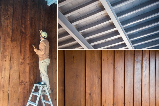 In the room where Bahá'u'lláh revealed the Kitáb-i-Aqdas, conservation was carried out for the wooden wall panels, many of which had become warped or discolored. Each one was straightened, reinforced, and re-stained.