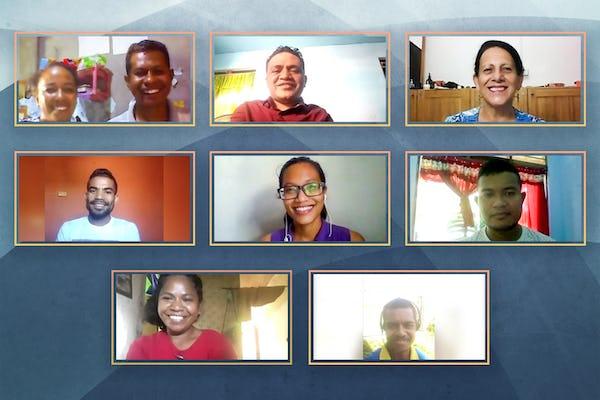 Elección de la primera Asamblea Espiritual Nacional de Timor Oriental en medio de un devastador ciclón