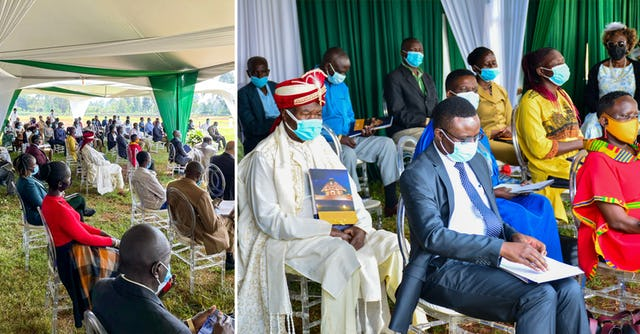 Some one hundred participants attended the dedication ceremony, while thousands of people nearby and across Kenya celebrated a momentous step in the spiritual journey of their people.