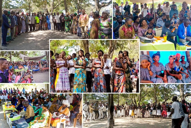 In-person gatherings held according to safety measures required by the government. 'Abdu'l-Bahá's call for advancement of women inspires DRC conference.