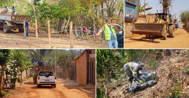 Inspired by the commitment of the youth and others who had shown up to support the initiative, Municipal workers expanded their efforts to clean up the area beyond the river to other parts of the neighborhood, resulting in the removal of 12 tons of trash.