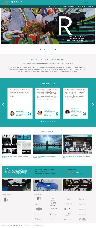webflow project 2 - UNFOLD