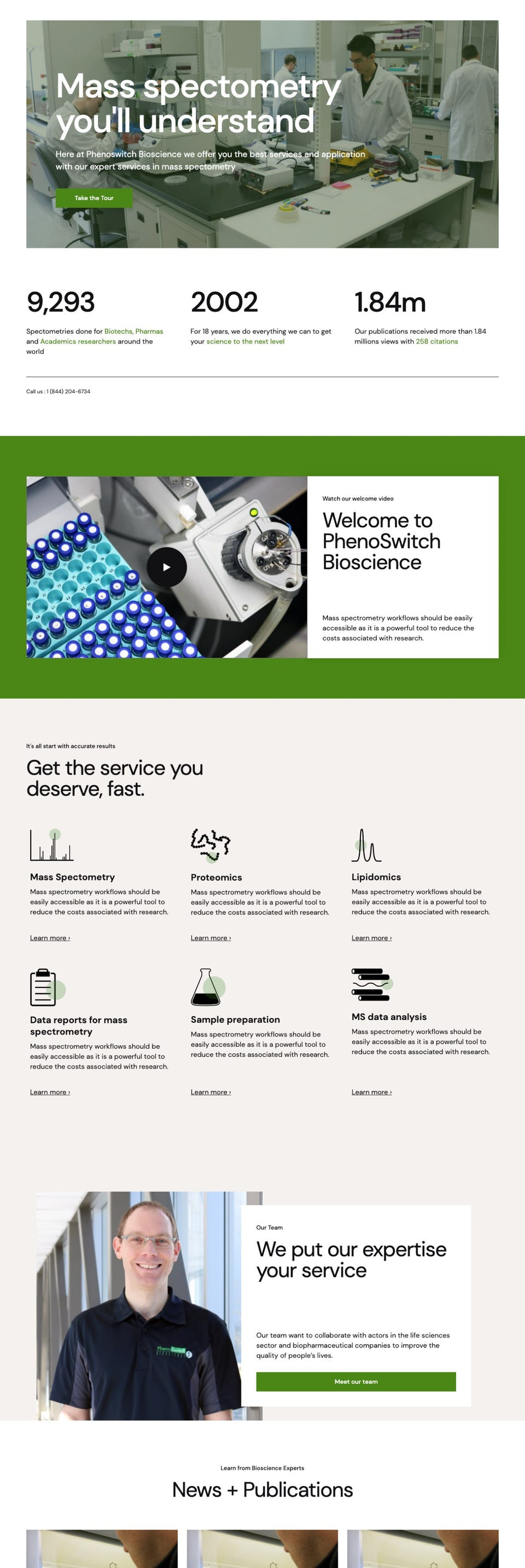 webflow project 1 - PhenoSwitch Bioscience