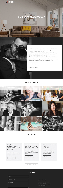 webflow project 2 - JMDescoste Photographie