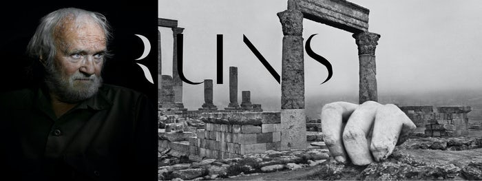 Exposition Josef Koudelka. Ruines à la BnF