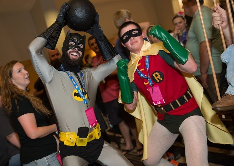 weird australian laws - dressing up as batman and robin