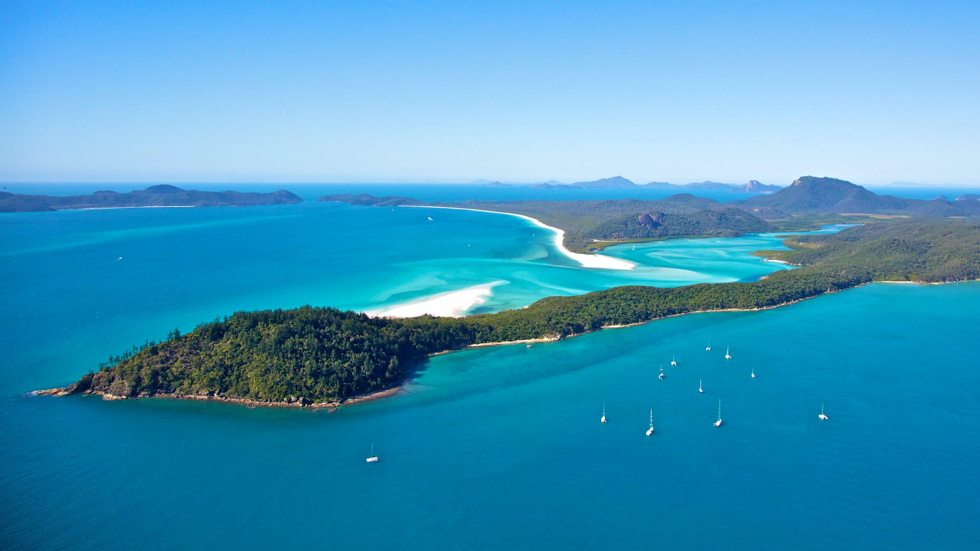 hill inlet whitsunday islands of australia