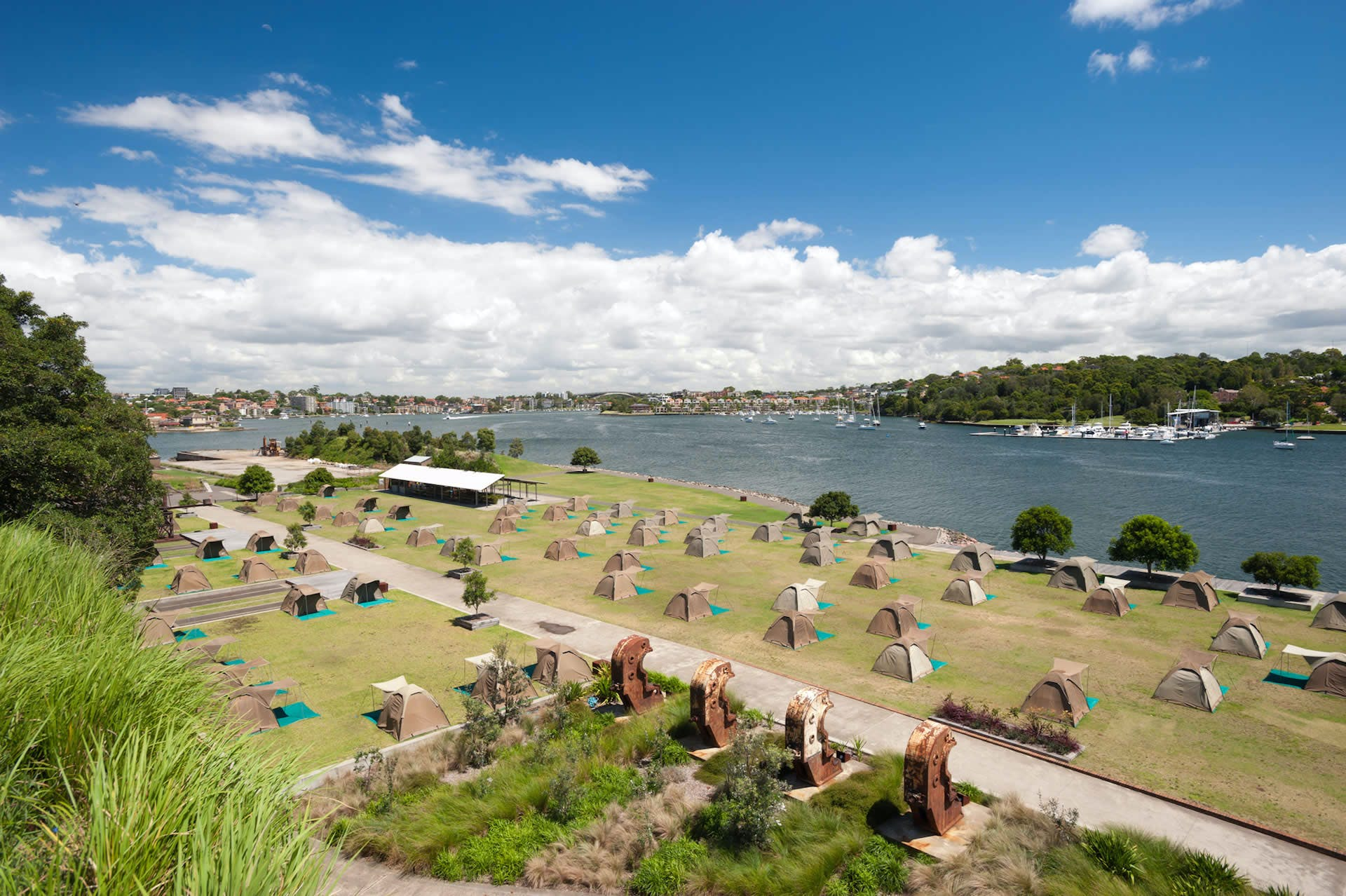 australian islands - cockatoo island