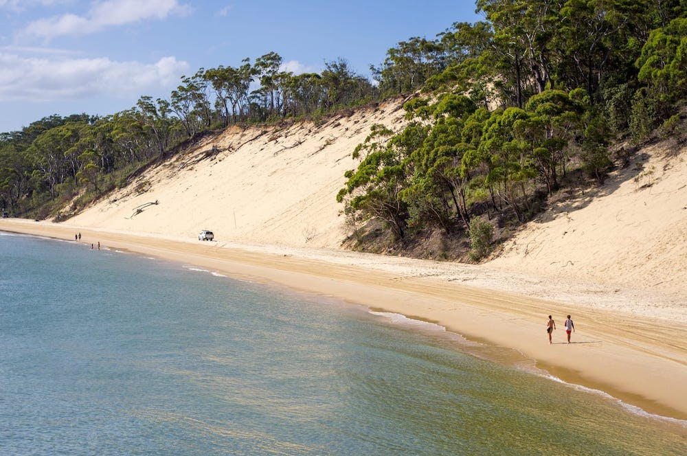 islands in australia - moreton island