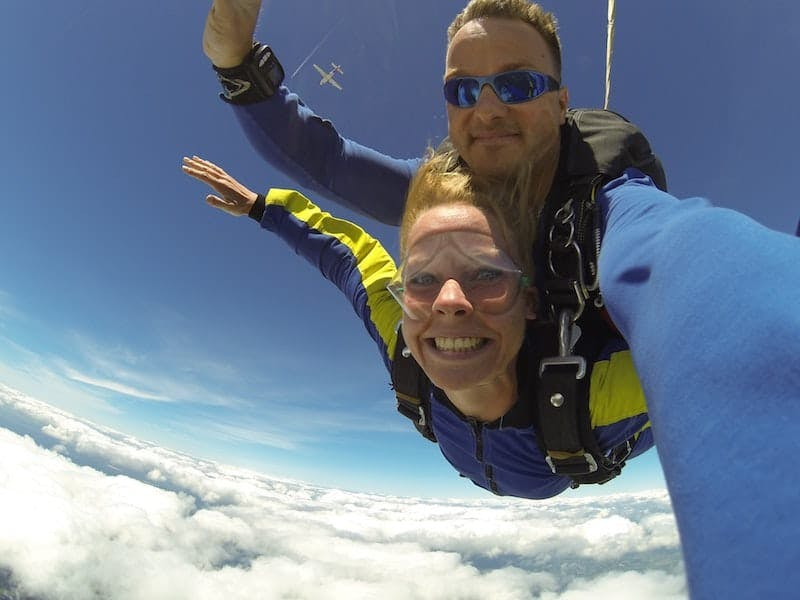 epic east coast experiences skydiving