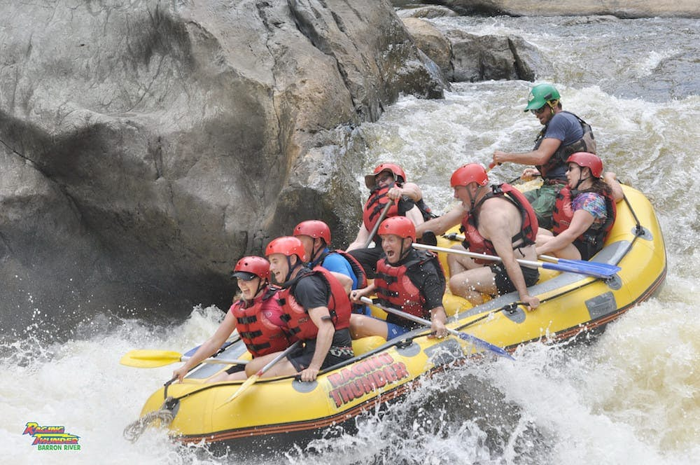 raging thunder river rafting east coast experiences