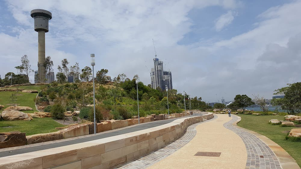 places to see in sydney - barangaroo reserve