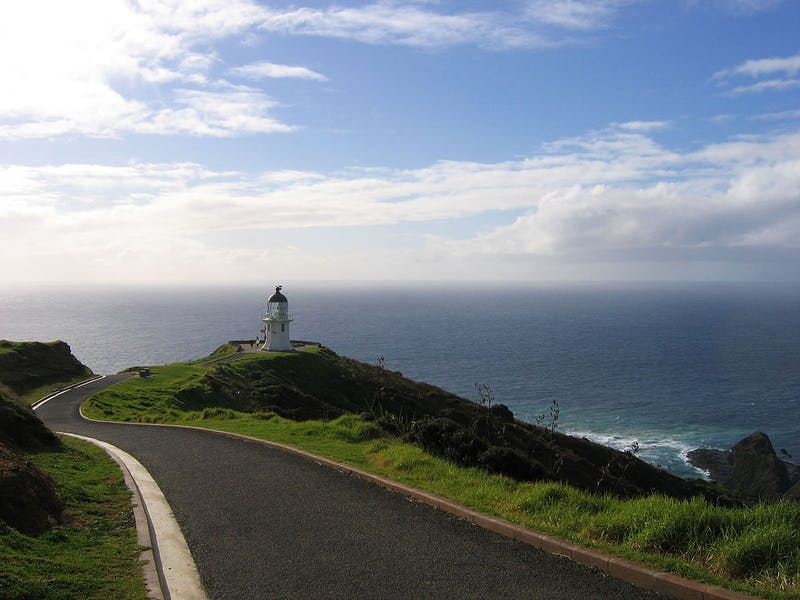 cape reinga is an awesome place to visit in new zealand