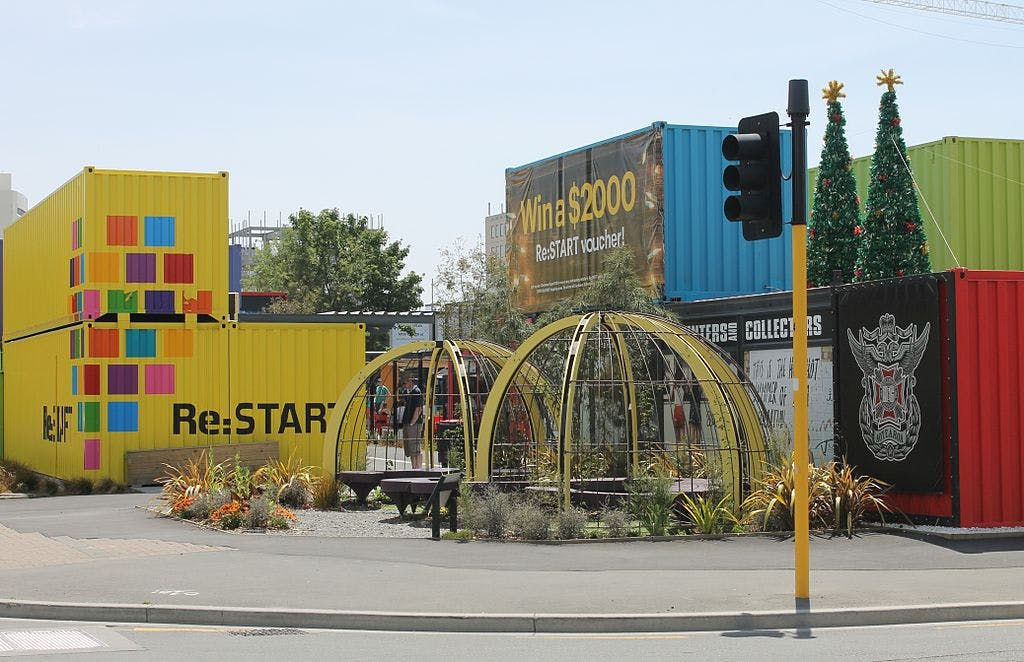 restart mall christchurch