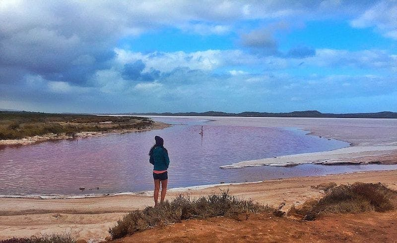 pink lake port gregory
