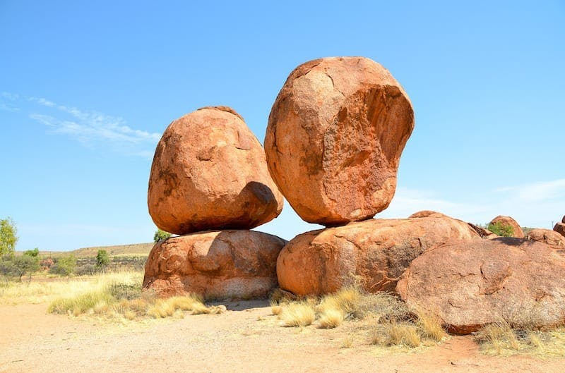unusual places to visit in australia the devils marbles
