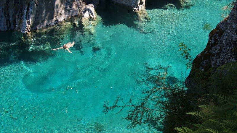 new zealand secrets - blue pools