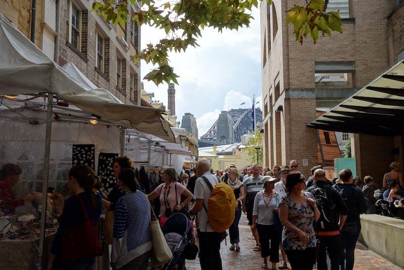 the rocks market sydney