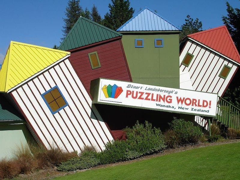 wanaka things to do, puzzling world